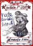 Nate Daniels Band Concert Poster